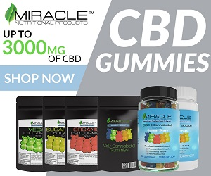 CBD Gummy - Miracle Nutritional